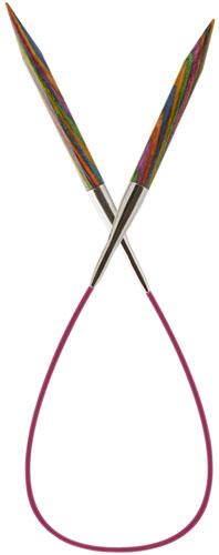 Symfonie Wood Fixed Circular Knitting Needles 150cm Wollinchen