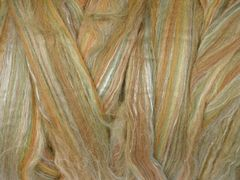 Ashford  FLeece Wool/Silk Cinnamon