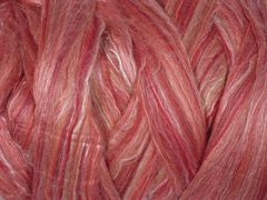 Ashford Fleece Wool/SIlk Pomegranate