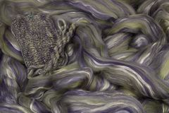 Fleece Wool-Silk Atlantik