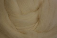 Fleece-Wool BFL white