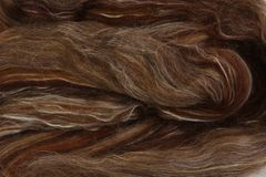 Ashford Fleece Wool Silk Spice