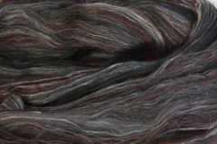Ashford Fleece Wool/Silk Poppy Seed