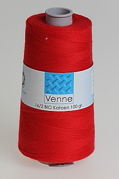 Organic Cotton Red 100g