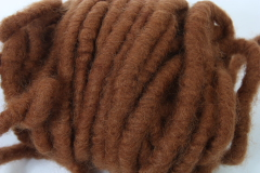 Felted Wool Band brown 1m