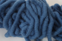 Felted Wool Band ice-blue 1m