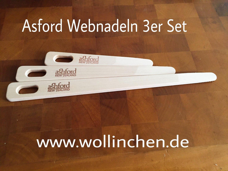 Ashford Weaving Needles 3 pieces - Wollinchen