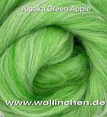Alpaca Apple Green 100g