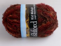 "Ashford  Mohair Looped ""Ginger"" 50g"